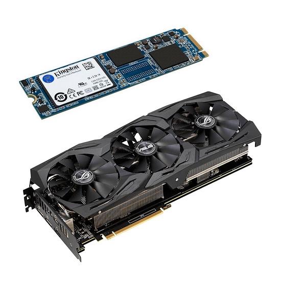 SSD M.2 Kingston UV500 -  240 Go offert pour l'achat d'une Carte Graphique Asus - Ex : Asus GeForce RTX 2060 ROG STRIX A6G