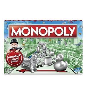 Jeu de société Hasbro Monopoly - Classique (2017)