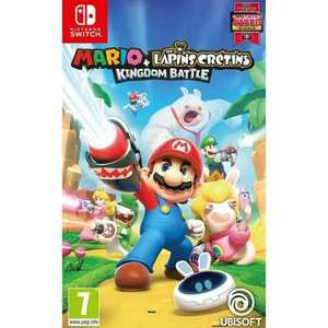 Mario + The Lapins Crétins : Kingdom Battle sur Nintendo Switch