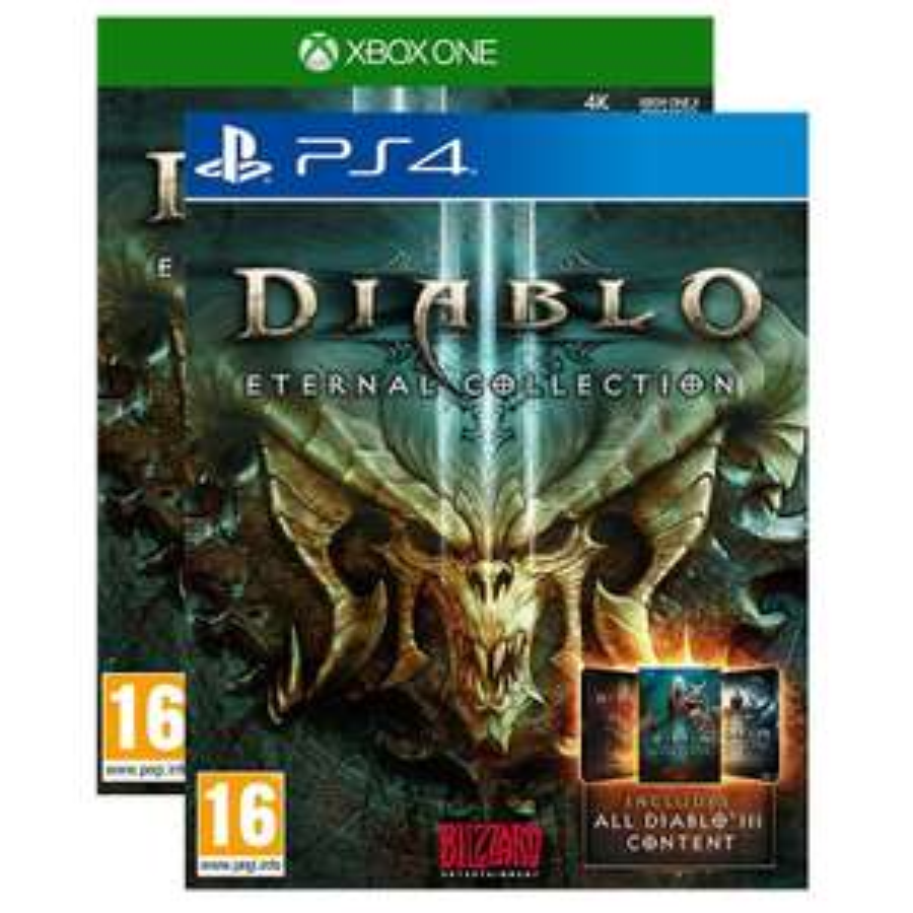 Sélection de jeux en promotion - Ex: Diablo III Eternal Collection : Le jeu + Reaper of Souls + Rise of the Necromancer sur PS4 / Xbox One