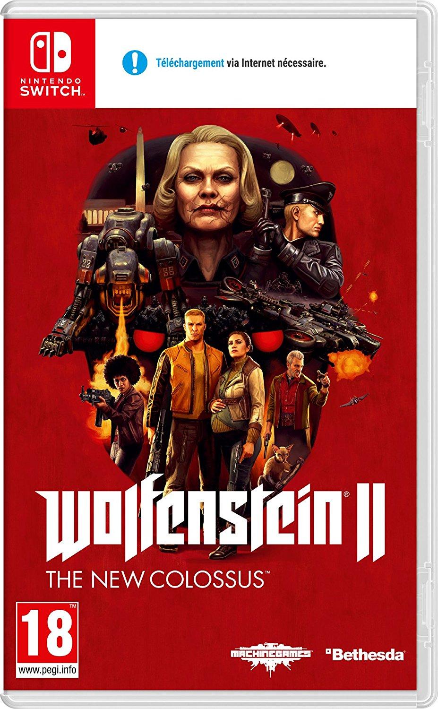 Wolfenstein II The New Colossus sur Nintendo Switch