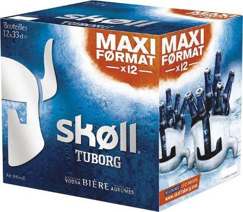 Pack de 12 Bières Skoll 33cl