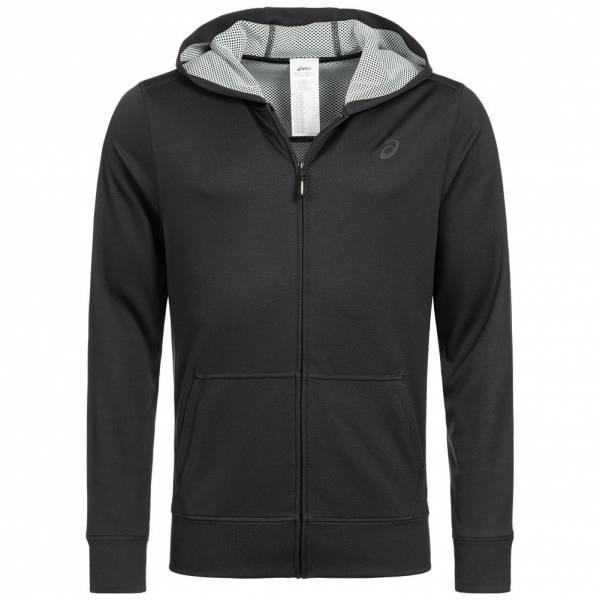 Veste de survêtement à capuche zippée Asics Tech - noir (du S au XL)