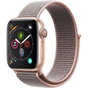 [CDAV] Montre connectée Apple Watch Series 4 (GPS) - 44 mm, Aluminum, boucle Sport, Rose des Sables
