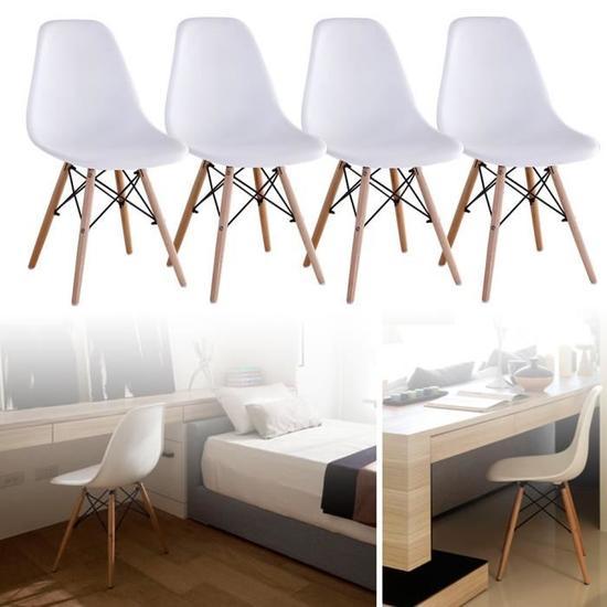Lot de 4 chaises de salle à manger (vendeur tiers)