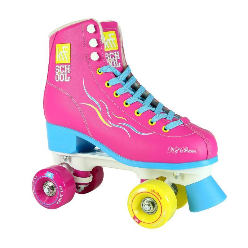 Patins à roulettes enfants Quad KRF School TCI Limited Edition Rose KRF