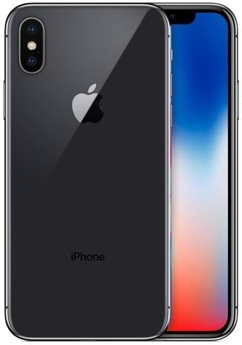 "Smartphone 5.8"" Apple iPhone X (full HD+, A11, 3 Go de RAM, 64 Go) - reconditionné"