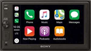 "Autoradio Multimédia 6.4"" Sony XAV-AX1000 - Bluetooth & compatible Apple CarPlay (Via ODR 40€)"