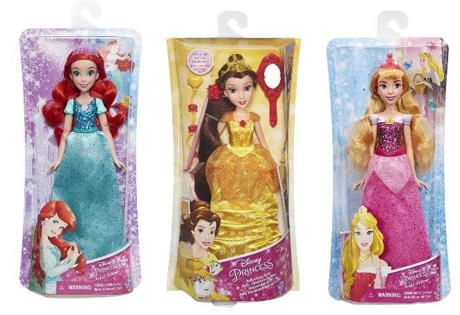 Lot de 2 Poupées Disney princesse parmi une sélection