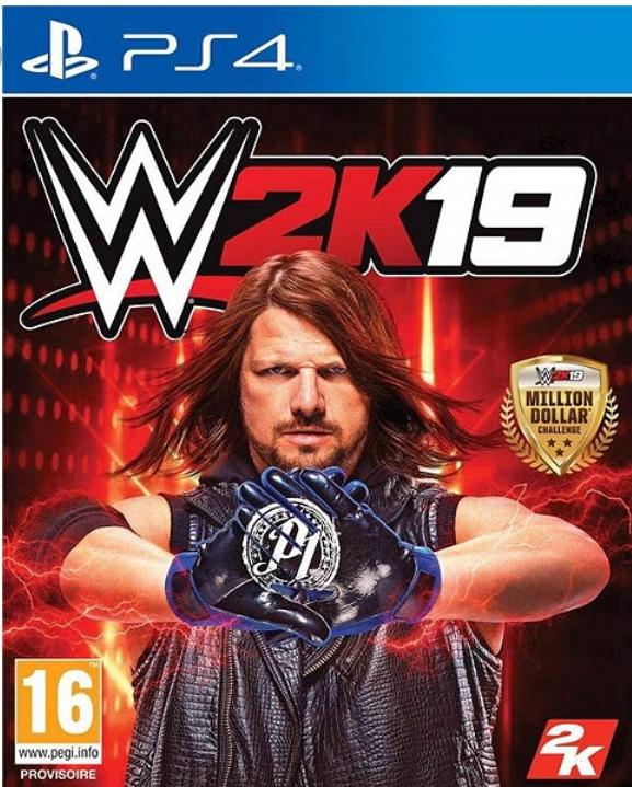 WWE 2K19 sur PS4
