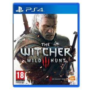The Witcher 3 Wild Hunt sur PC à 29€ et sur PS4