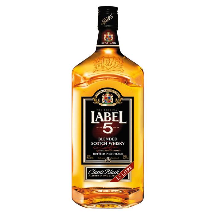Bouteille de Whisky Label 5 - 1,5L - Limoges (87)