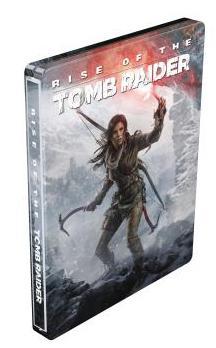 Rise of the tomb raider sur Xbox One + Steelbook Offert + Bracelet coupe file pour tester le jeu à la PGW