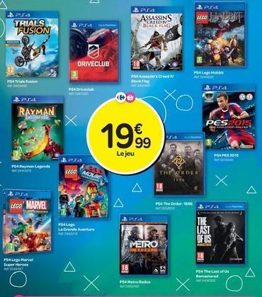 Sélection de jeux PS4 en promotion - Ex : The Last Of Us