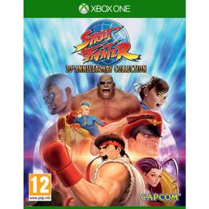 Street Fighter 30th Anniversary Collection sur Xbox One