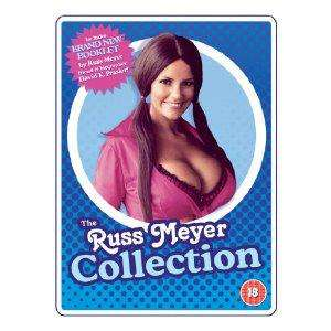 Russ Meyer Collection DVD - 19 Films + livre anglais/français