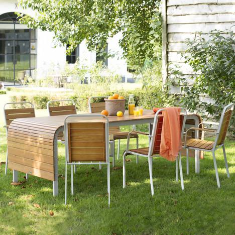 Salon de jardin Elea pour  6 personnes