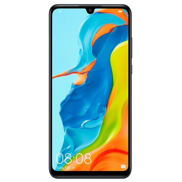 """Smartphone 6.17"""" Huawei P30 Lite - 6Go de RAM, 128 Go, Dual Sim - Noir"""