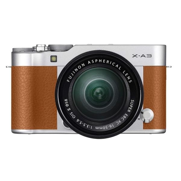 Appareil Photo Hybride Fujifilm X-A3 Marron + Objectif 16-50mm II