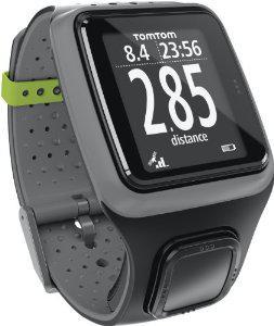 Montre TomTom GPS Runner avec cardio-fréquencemètre - Gris foncé