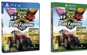 Pure Farming 2018 sur PS4 ou Xbox One (via l'application)