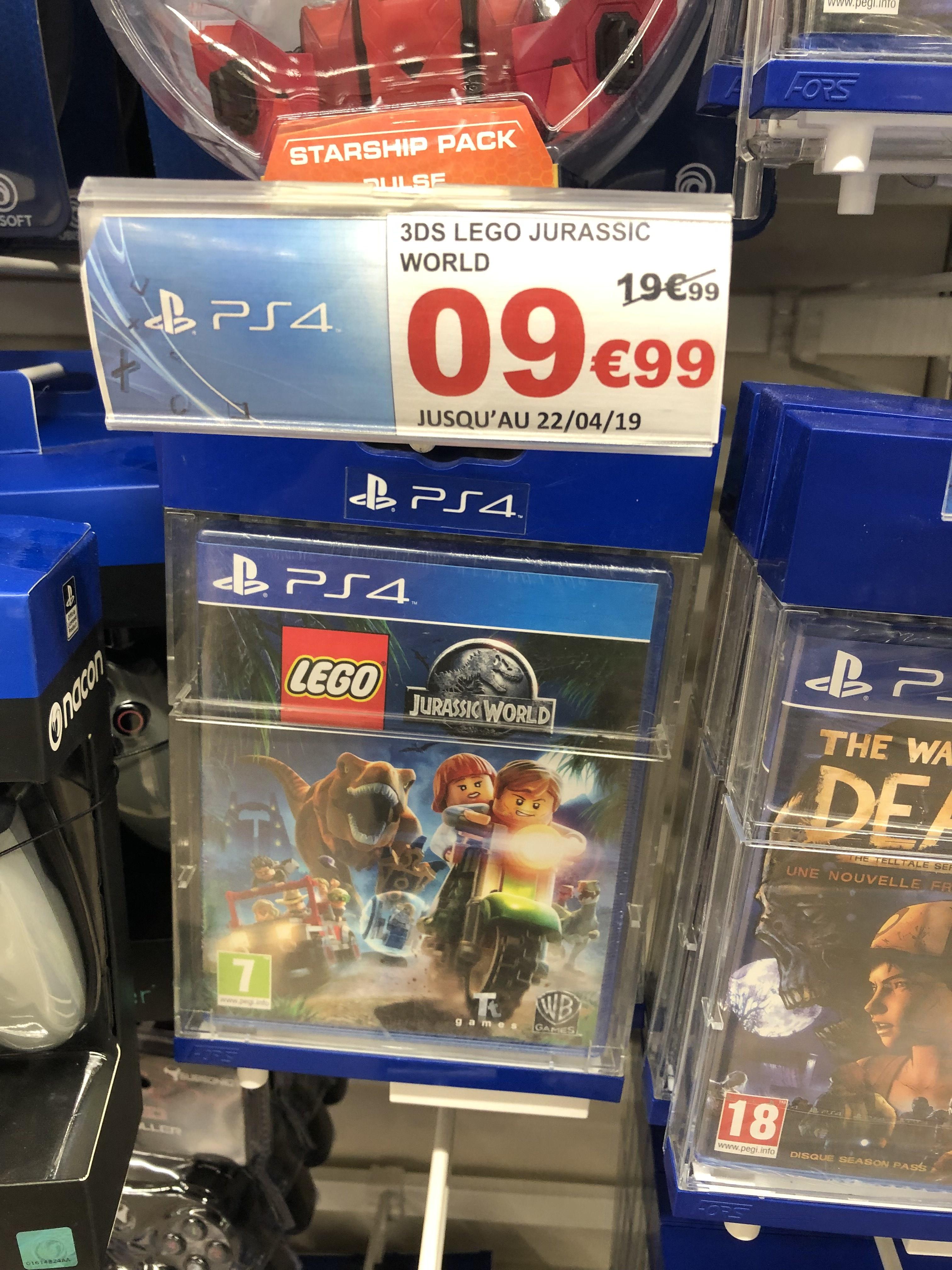 Lego Jurassic World sur PS4 - Vélizy (78)