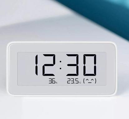 Horloge Thermomètre Hygromètre Xiaomi Smart E-Ink - Bluetooth 4.0