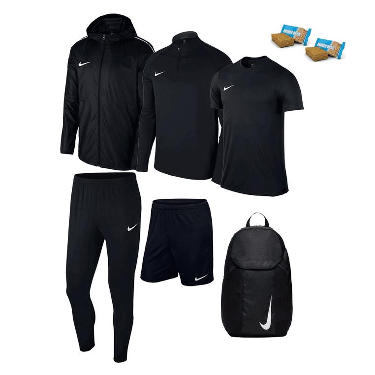 Ensemble sportif Nike Academy 18 (6 pièces) - 7 coloris disponibles - Tailles du S au XXL + 2 barres énergétiques offertes