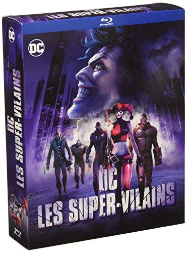 Coffret Blu-ray DC Les Super-Vilains : Batman : The Killing Joke + Batman : Assaut sur Arkham + Batman et Harley Quinn