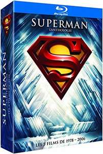 Coffret 8 Blu-Ray Superman - L'anthologie 1978-2006