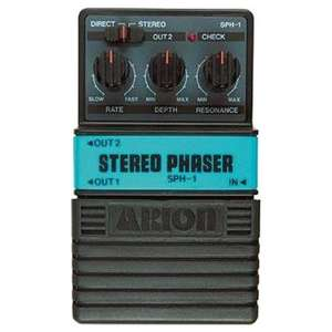 Pédale d'effet guitare Arion stereo Phaser Pedal SPH-1