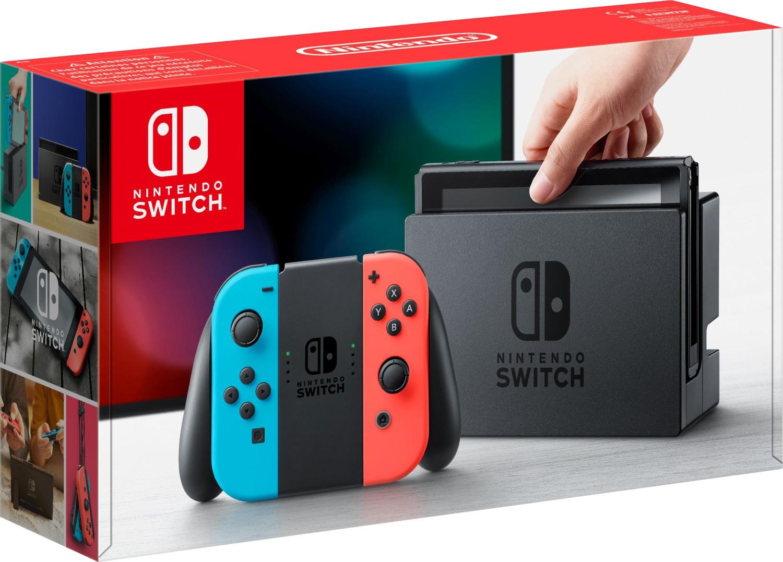 [Adhérents] Console Nintendo Switch avec paire de Joy-Con bleu/rouge ou gris (+ 30€ sur le compte-fidélité)