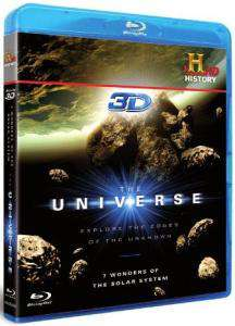 blu ray 3d The Universe - Seven Wonders of the Solar System