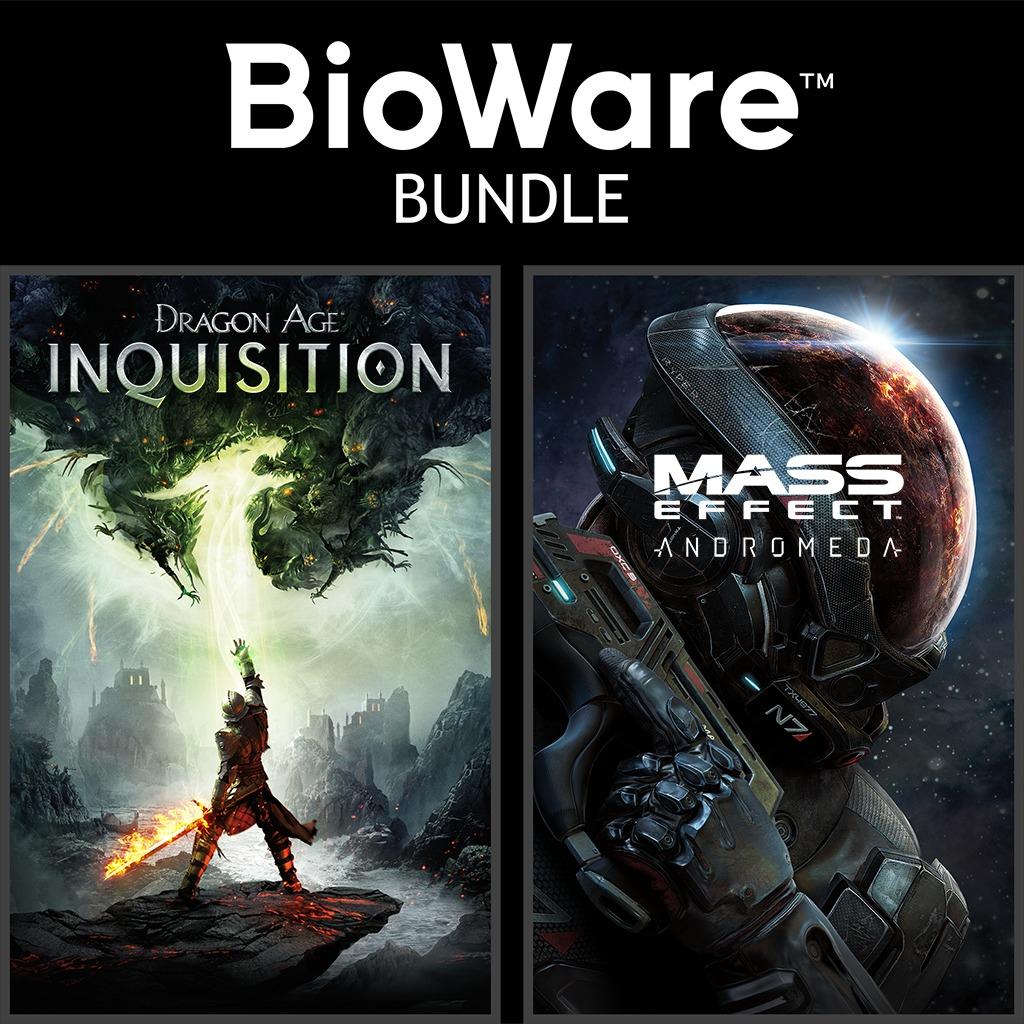 Bundle BioWare - Dragon Age: Inquisition + Mass Effect: Andromeda sur PS4 (dématérialisé)