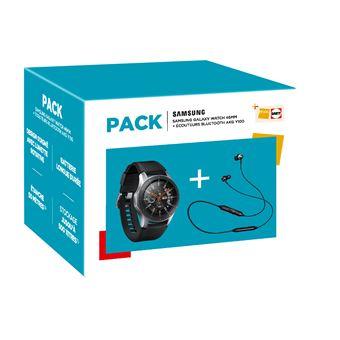 Montre Connectée Bluetooth Samsung Galaxy Watch - 46 mm + Ecouteurs AKG Y100 (Via ODR 30€)