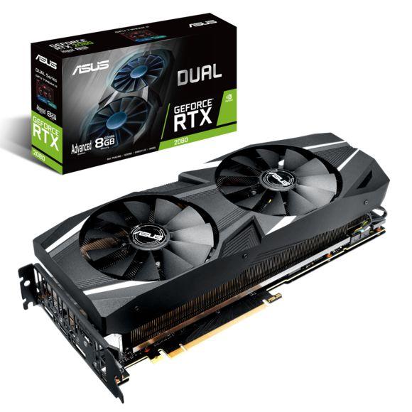 Carte graphique Asus Dual GeForce RTX 2080 Dual - 8 Go