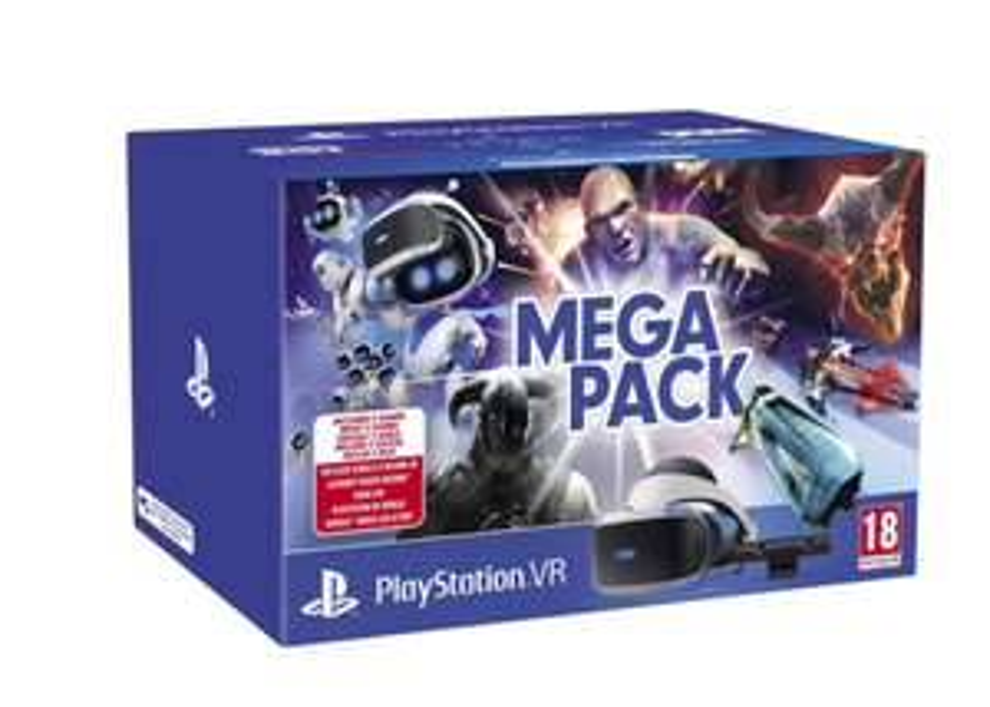 Casque de réalité virtuelle Sony PlayStation VR (V2) + PlayStation Camera + Astro Bot RM + Doom VFR + Skyrim VR + VR Worlds + WipEout OC