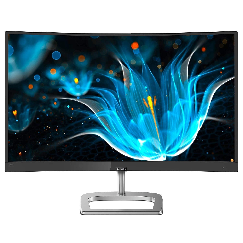 """Ecran PC 23,6"""" incurvé Philips 248E9QHSB - Full HD, 4 ms (Frontaliers Suisse) - brack.ch"""