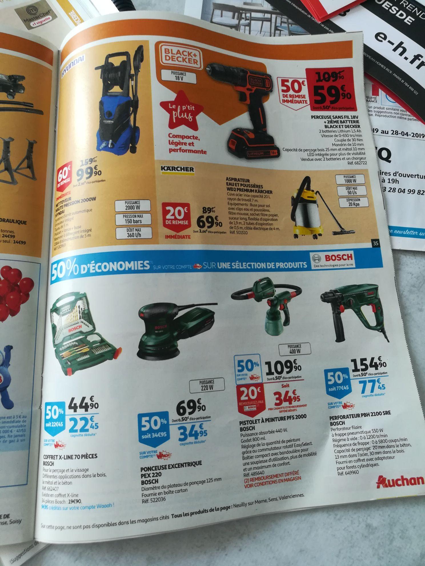 Coffret Bosch X-Line 70 Pièces (via 22.45€ sur la carte + Shopmium) - Leers (59)