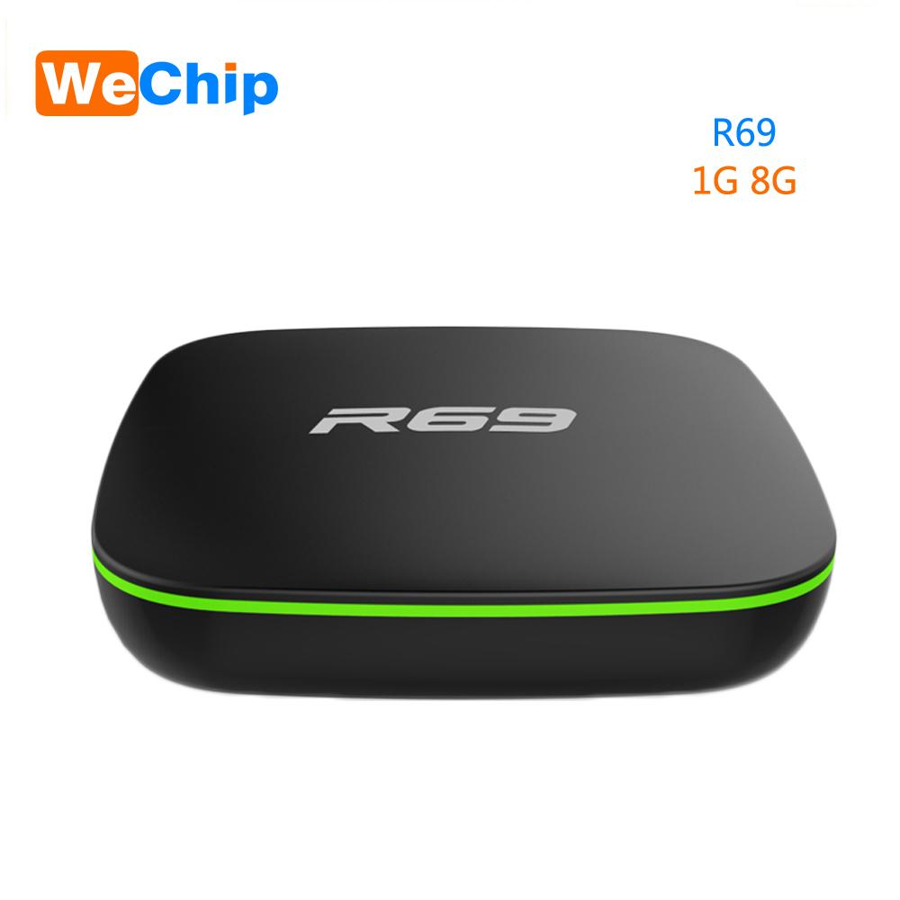Box TV Wechip R69 - Android 7.1, 8Go, 1Go de Ram