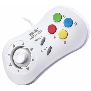 Manette filaire SNK Neo Geo Mini - blanc