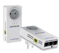 Pack de 2 adaptateurs CPL Netgear CPL600 Mbps