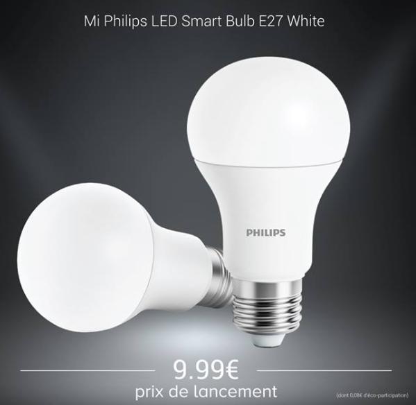 Ampoule Xiaomi Mi Philips Led Smart Bulb (Champs-Elysées 75)