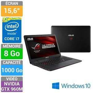 "PC Portable 15.6"" Asus ROG GL551JW-DM366T - Intel i7-4750HQ, 8Go de Ram, 1To, GeForce GTX960M 2Go"