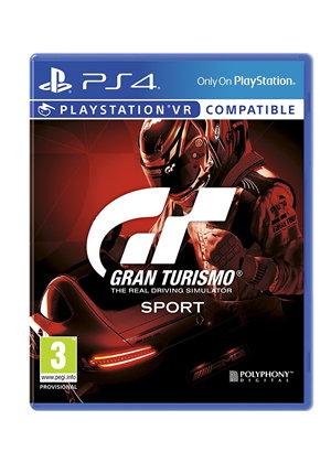 Jeu Gran Turismo: Sport sur PS4