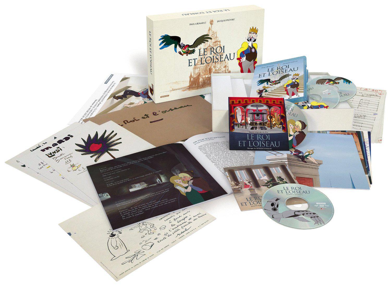 Coffret Edition Prestige Le Roi et l'Oiseau en Blu-Ray/DVD (Tirage Limité)