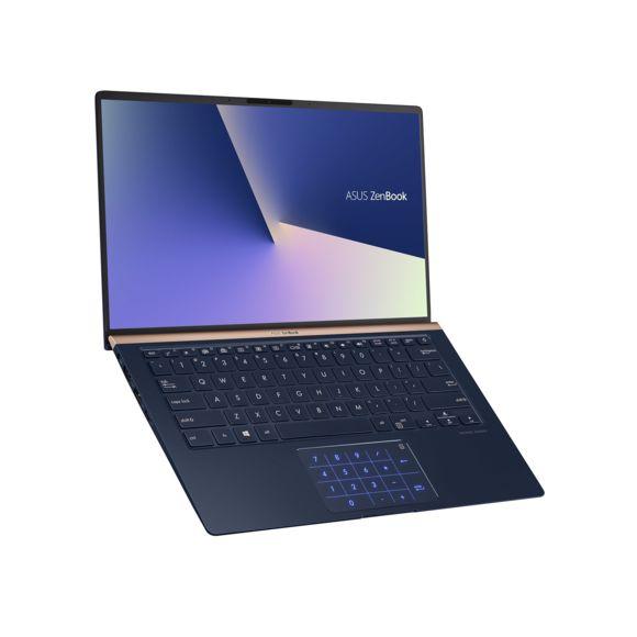 """PC Portable 14"""" Asus ZenBook 14 UX433FA-A5045T avec NumberPad - Full HD, i5-8265U, RAM 8 Go, SSD 256 Go, Windows 10"""