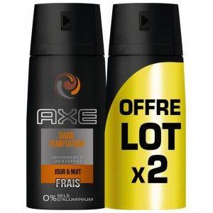 Lot de 2 déodorants Axe Gratuits (via BDR et 3.6€ sur la Carte Fidélité)
