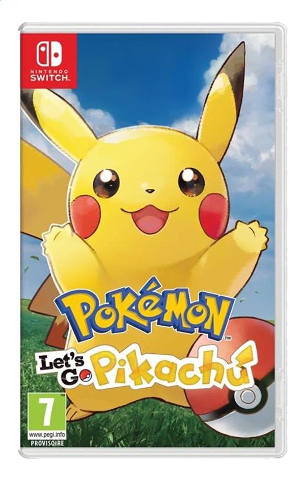 Pokémon : Let's Go - Pikachu sur Nintendo Switch