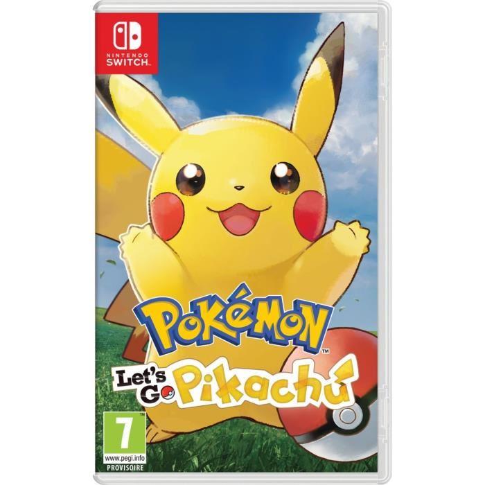 [Cdiscount à volonté] Pokémon : Let's go - Pikachu sur Nintendo Switch